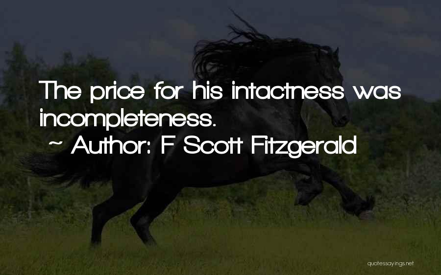 F Scott Fitzgerald Quotes 1864189