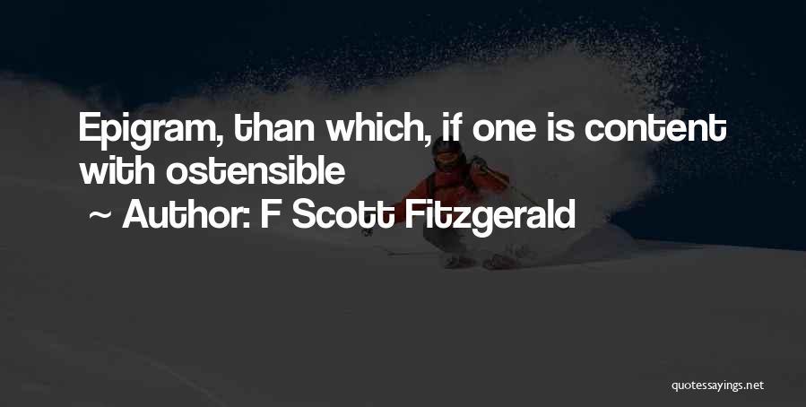 F Scott Fitzgerald Quotes 1996309
