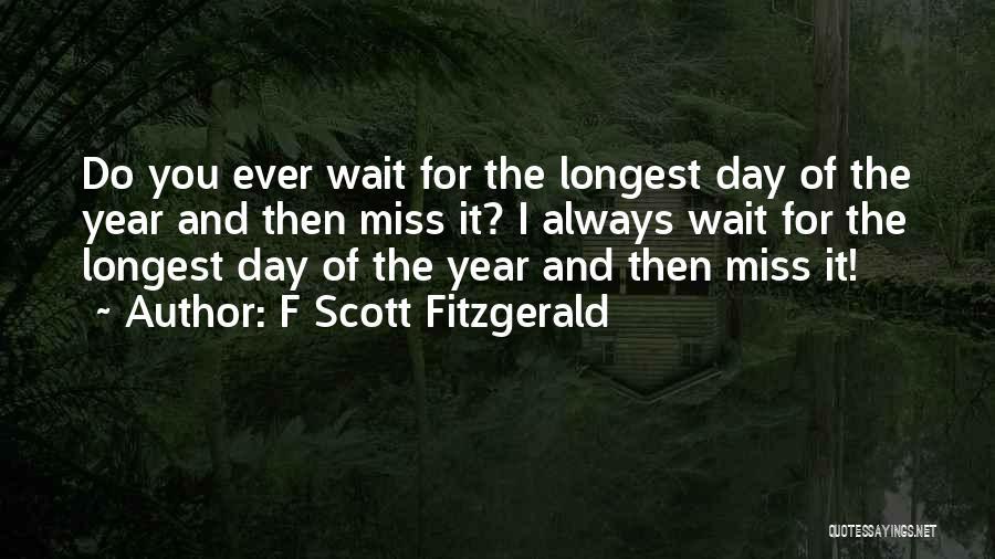 F Scott Fitzgerald Quotes 2000171