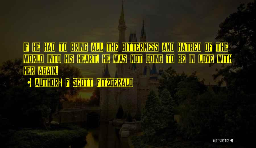 F Scott Fitzgerald Quotes 356742