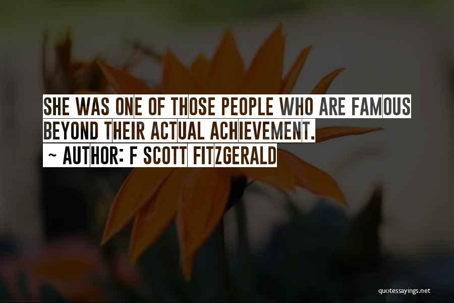 F Scott Fitzgerald Quotes 362233