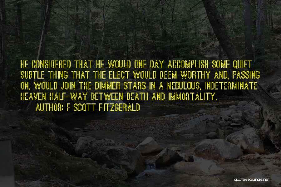 F Scott Fitzgerald Quotes 529312