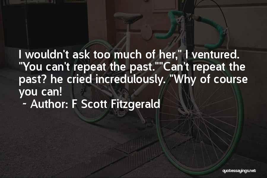 F Scott Fitzgerald Quotes 539535