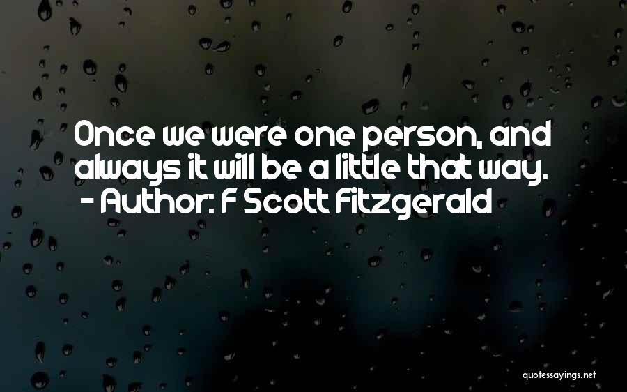 F Scott Fitzgerald Quotes 540593