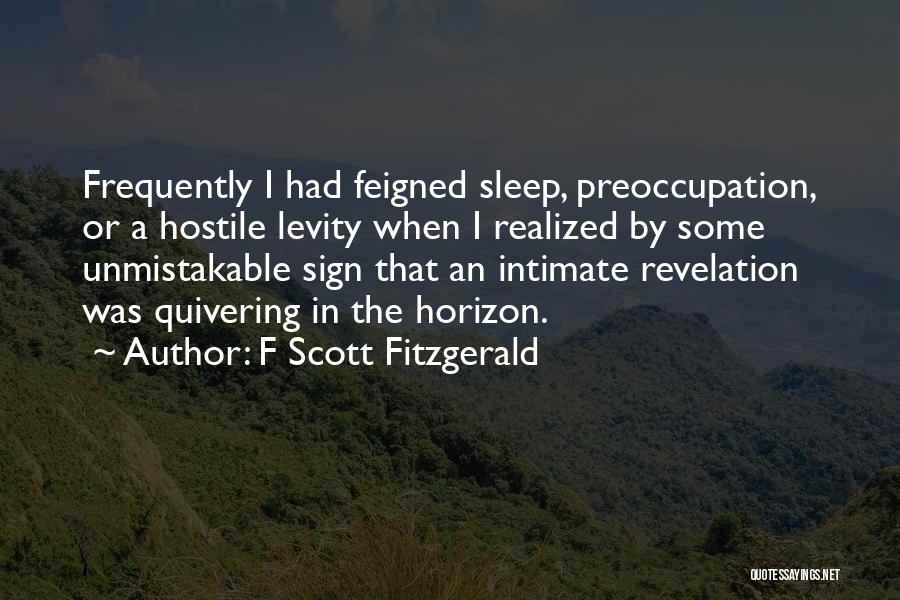 F Scott Fitzgerald Quotes 886505