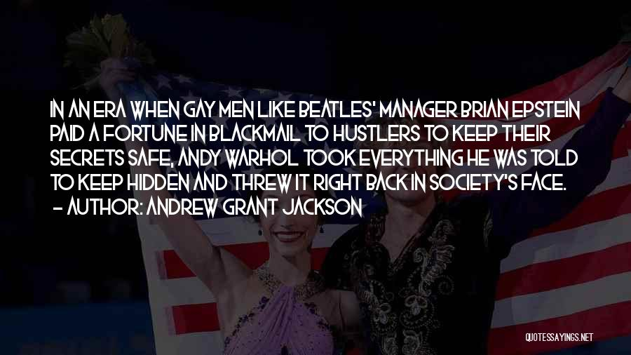 Face Hidden Quotes By Andrew Grant Jackson