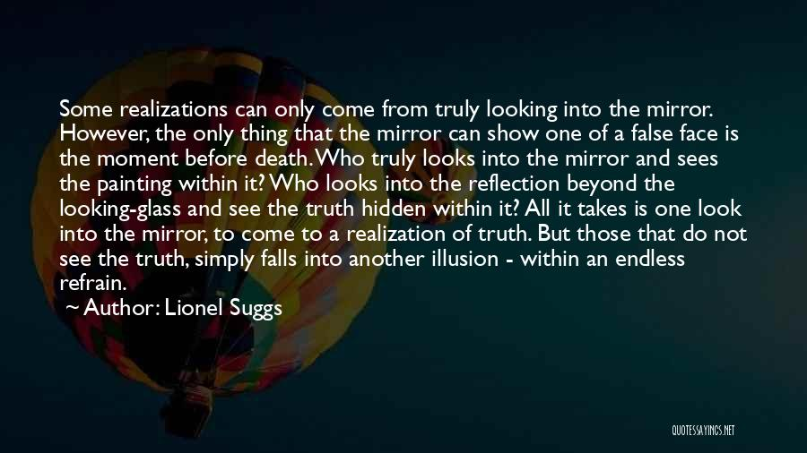 Face Hidden Quotes By Lionel Suggs