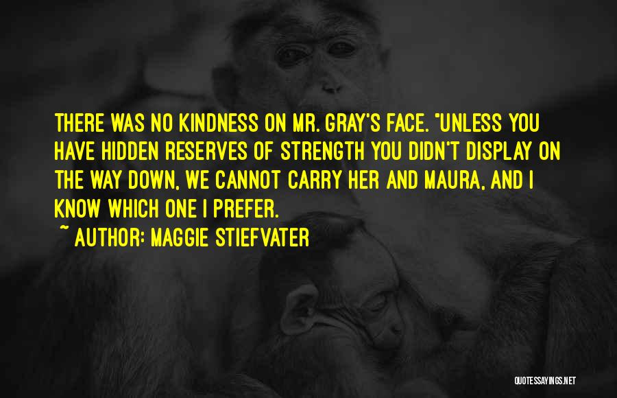 Face Hidden Quotes By Maggie Stiefvater