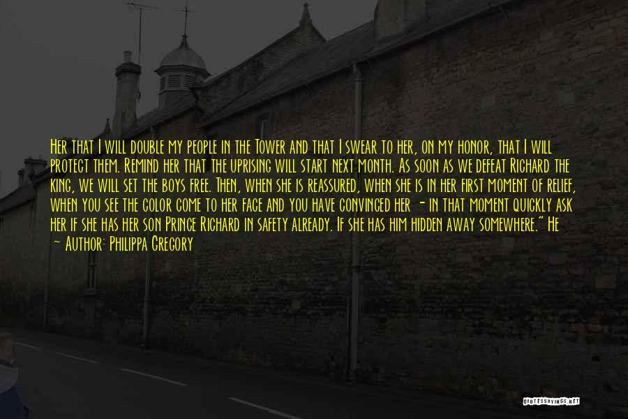 Face Hidden Quotes By Philippa Gregory