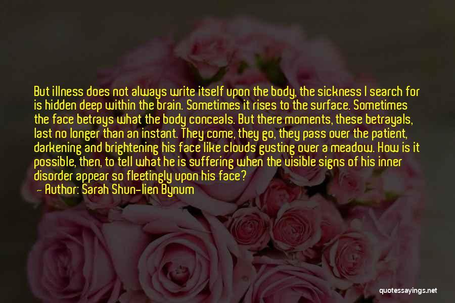 Face Hidden Quotes By Sarah Shun-lien Bynum