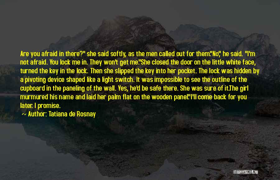Face Hidden Quotes By Tatiana De Rosnay