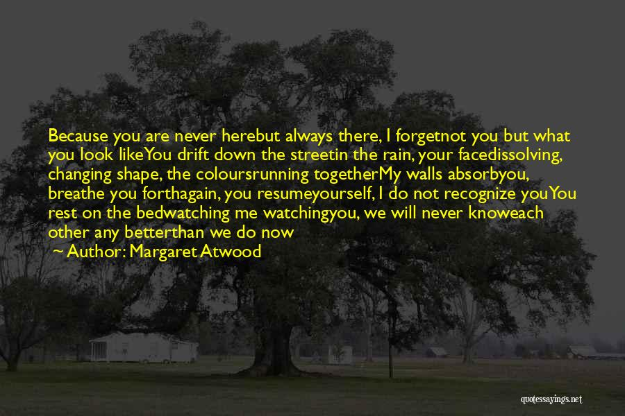 Face Shape Quotes By Margaret Atwood