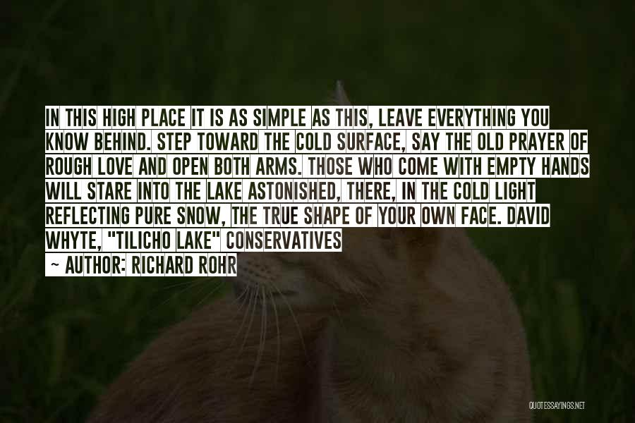 Face Shape Quotes By Richard Rohr