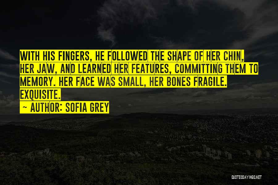 Face Shape Quotes By Sofia Grey