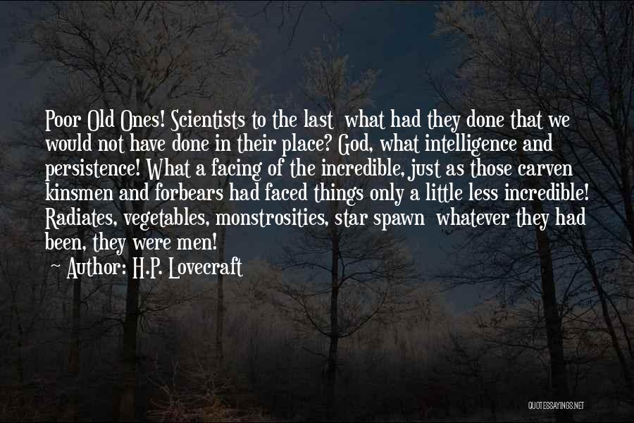 Facing Quotes By H.P. Lovecraft