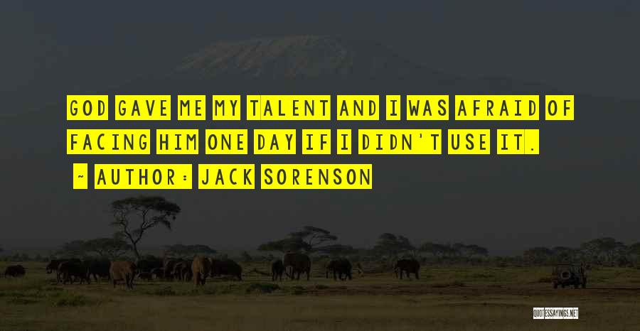 Facing Quotes By Jack Sorenson