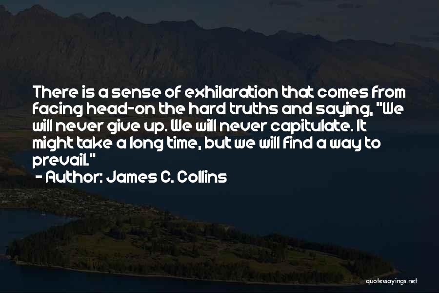 Facing Quotes By James C. Collins