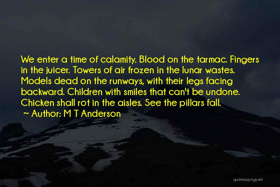 Facing Quotes By M T Anderson