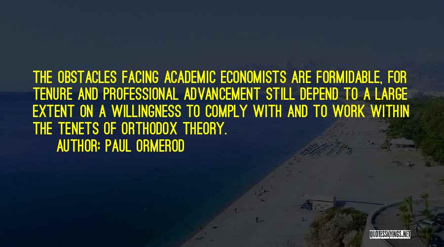 Facing Quotes By Paul Ormerod