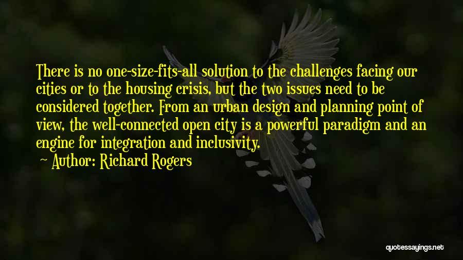 Facing Quotes By Richard Rogers
