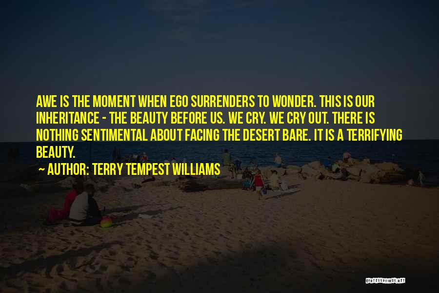 Facing Quotes By Terry Tempest Williams