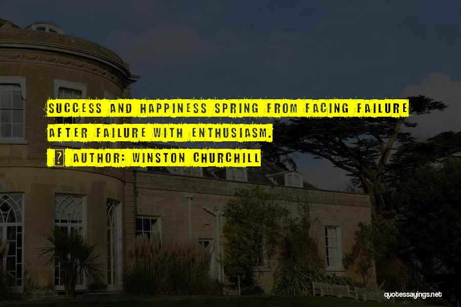 Facing Quotes By Winston Churchill