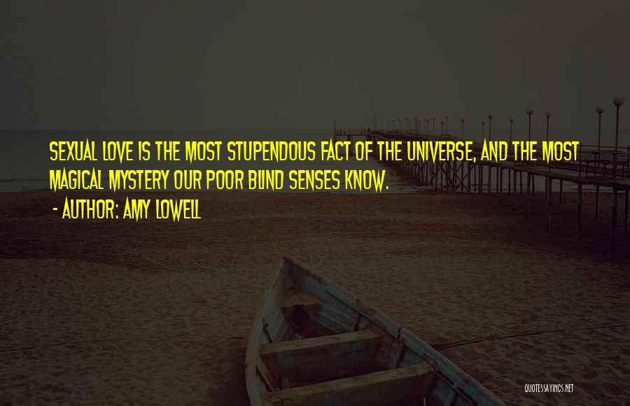 Facts.co Love Quotes By Amy Lowell