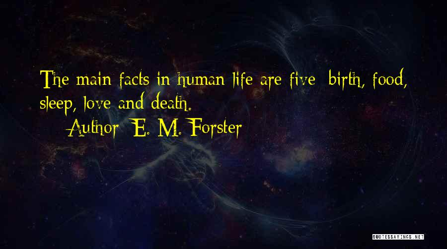 Facts.co Love Quotes By E. M. Forster