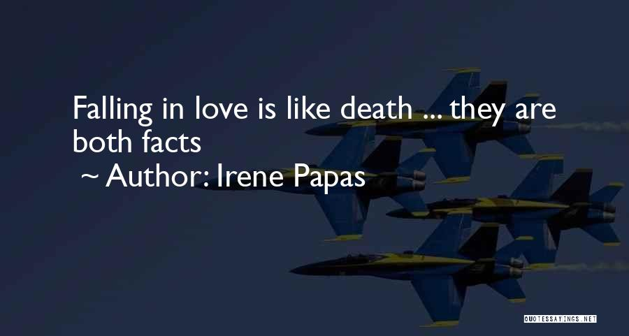 Facts.co Love Quotes By Irene Papas