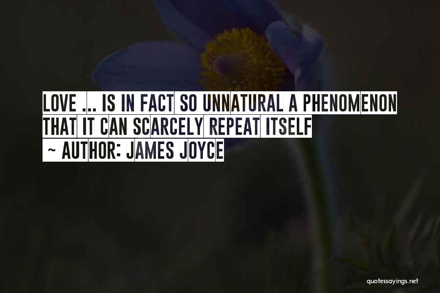 Facts.co Love Quotes By James Joyce