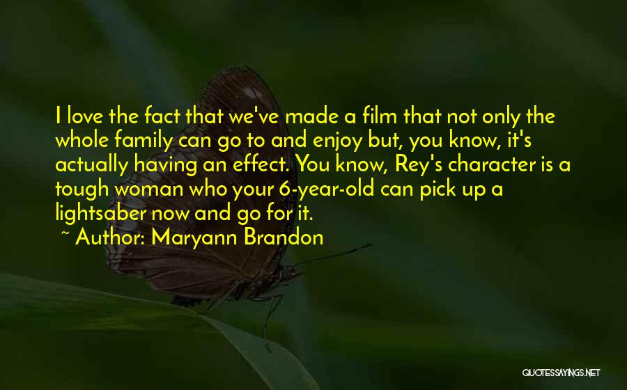Facts.co Love Quotes By Maryann Brandon