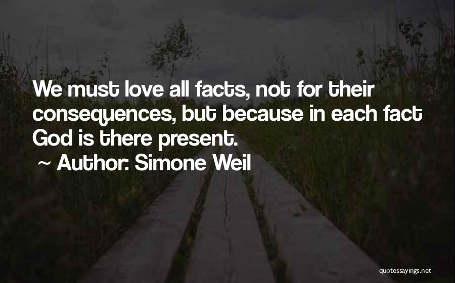 Facts.co Love Quotes By Simone Weil