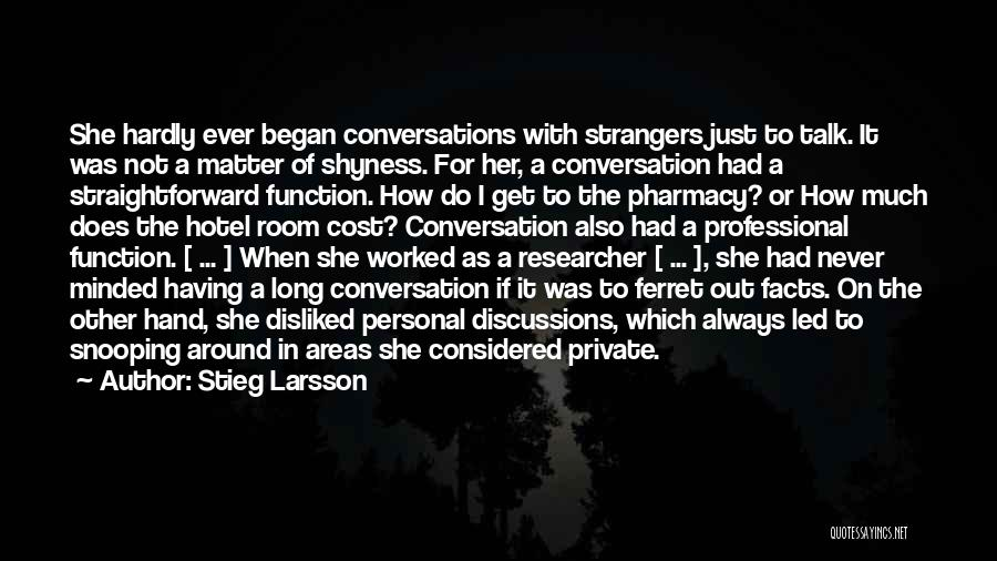 Facts.co Love Quotes By Stieg Larsson