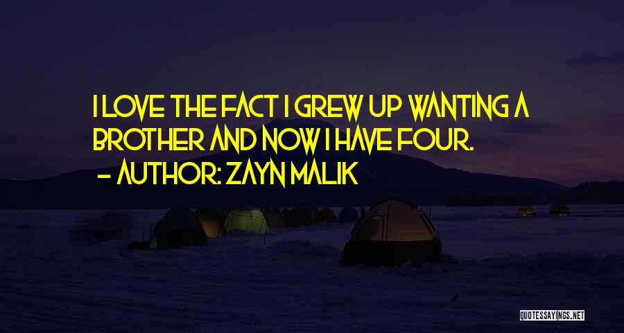 Facts.co Love Quotes By Zayn Malik