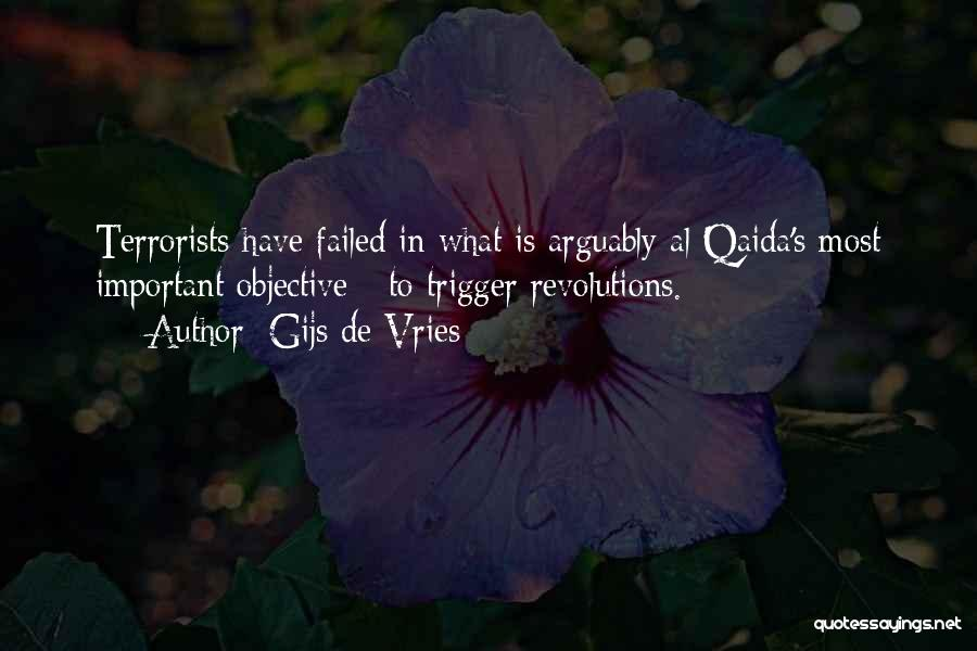 Failed Revolutions Quotes By Gijs De Vries