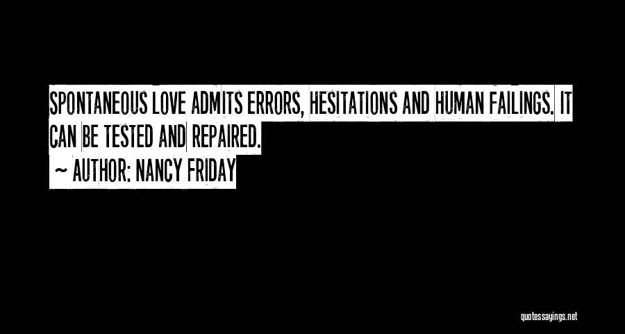 Failing Love Quotes By Nancy Friday