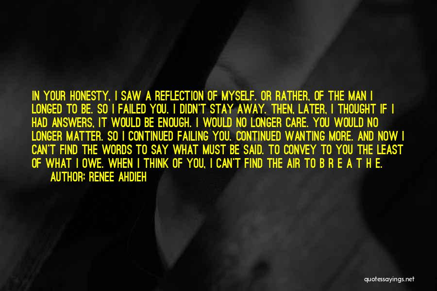 Failing Love Quotes By Renee Ahdieh