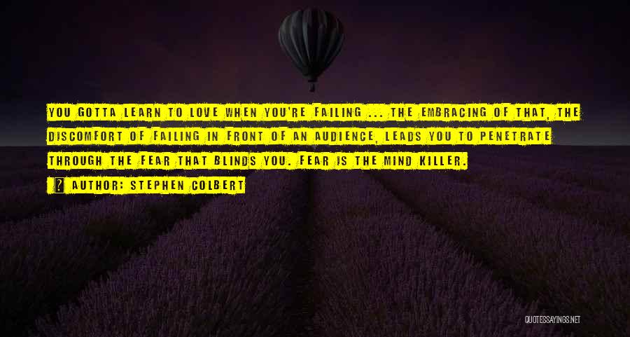 Failing Love Quotes By Stephen Colbert