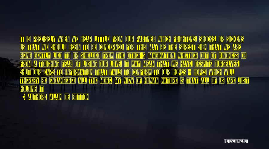 Fails In Life Quotes By Alain De Botton