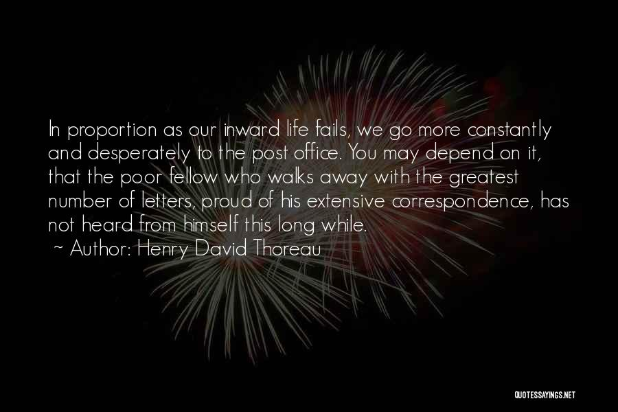 Fails In Life Quotes By Henry David Thoreau