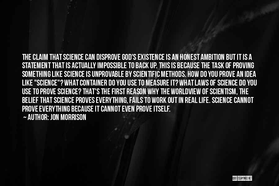 Fails In Life Quotes By Jon Morrison
