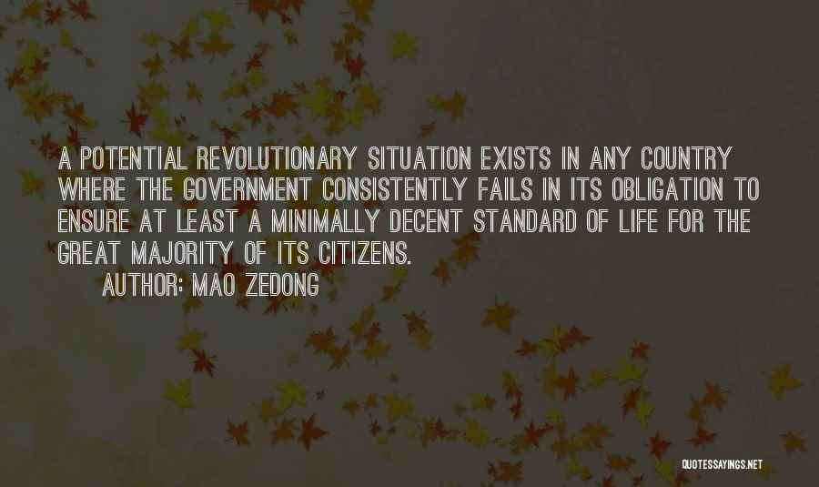 Fails In Life Quotes By Mao Zedong