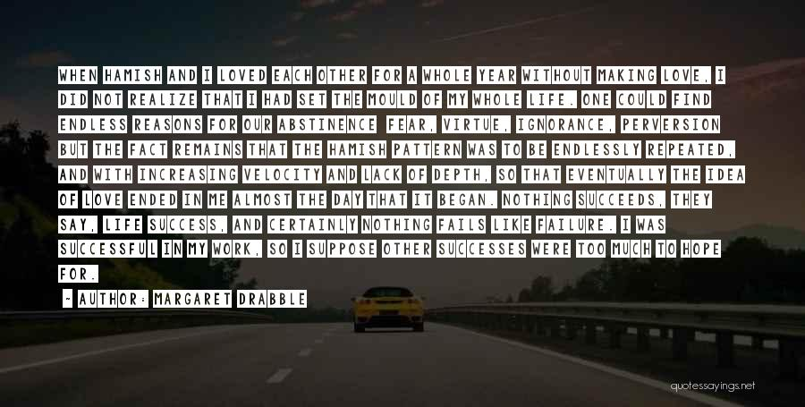 Fails In Life Quotes By Margaret Drabble