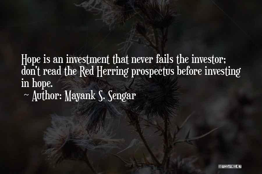Fails In Life Quotes By Mayank S. Sengar