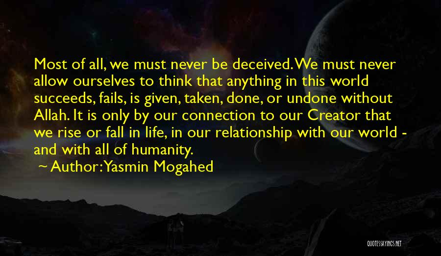 Fails In Life Quotes By Yasmin Mogahed