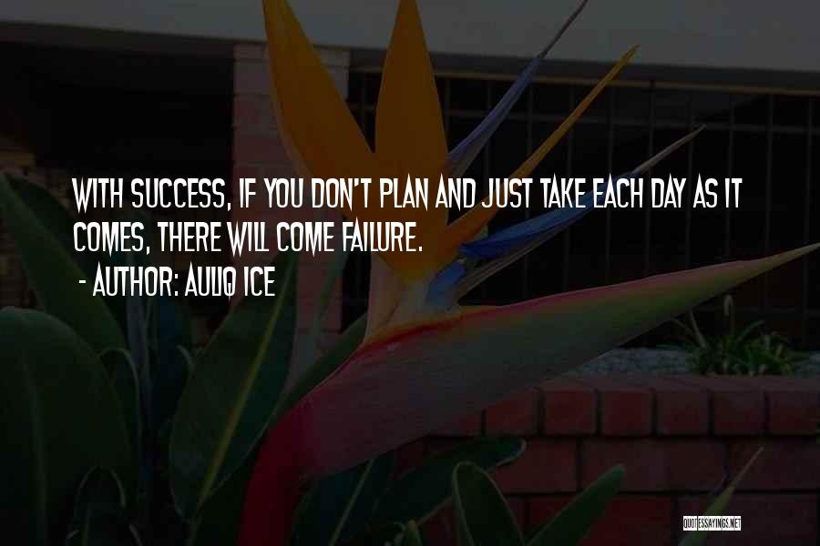 Failure And Opportunity Quotes By Auliq Ice