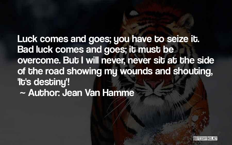 Failure And Opportunity Quotes By Jean Van Hamme