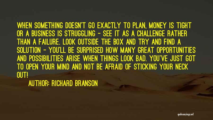 Failure And Opportunity Quotes By Richard Branson