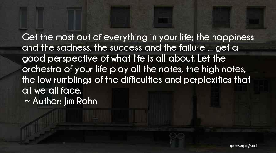Failure And Success In Life Quotes By Jim Rohn