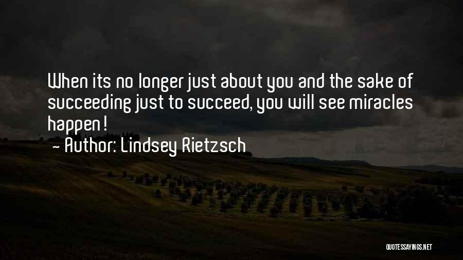 Failure And Success In Life Quotes By Lindsey Rietzsch
